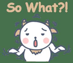 My cute goat sticker #7907806