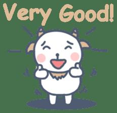 My cute goat sticker #7907810