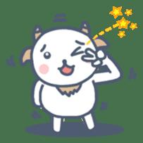 My cute goat sticker #7907813