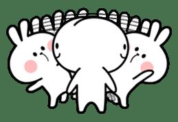 Spoiled Rabbit 4 sticker #7912305
