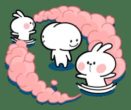 Spoiled Rabbit 4 sticker #7912306