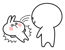 Spoiled Rabbit 4 sticker #7912307