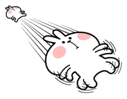 Spoiled Rabbit 4 sticker #7912308