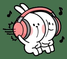 Spoiled Rabbit 4 sticker #7912313