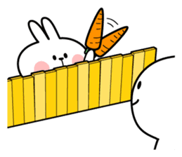 Spoiled Rabbit 4 sticker #7912320