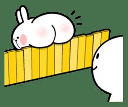 Spoiled Rabbit 4 sticker #7912322