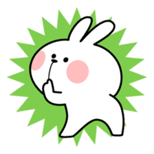Spoiled Rabbit 4 sticker #7912334
