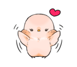 Okame-kun & pink-chan Vol.2 sticker #7915625