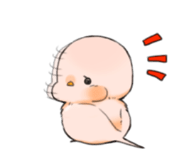 Okame-kun & pink-chan Vol.2 sticker #7915629