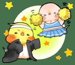 Okame-kun & pink-chan Vol.2 sticker #7915638