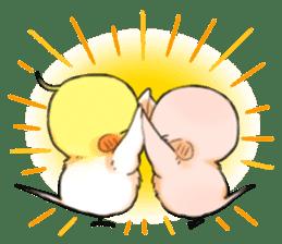 Okame-kun & pink-chan Vol.2 sticker #7915639