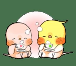 Okame-kun & pink-chan Vol.2 sticker #7915644