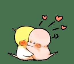 Okame-kun & pink-chan Vol.2 sticker #7915651