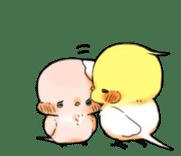 Okame-kun & pink-chan Vol.2 sticker #7915652