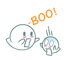 Small Friendly Boolulu sticker #7917338