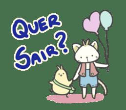 Mia and Piu 2 (Portuguese) sticker #7921555