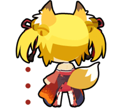 Waguruma Sticker (Outfox each other) sticker #7924669