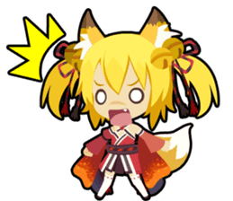 Waguruma Sticker (Outfox each other) sticker #7924673