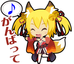 Waguruma Sticker (Outfox each other) sticker #7924678