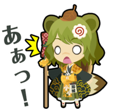 Waguruma Sticker (Outfox each other) sticker #7924688