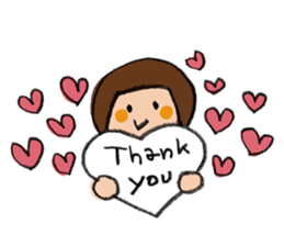 congratulations and thank you stickers sticker #7926376