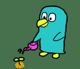 Bird-kun sticker #7933741