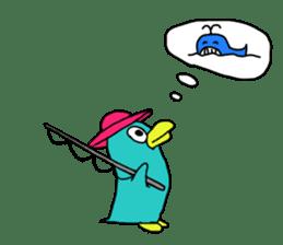 Bird-kun sticker #7933745