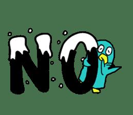 Bird-kun sticker #7933747