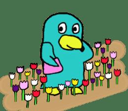 Bird-kun sticker #7933760