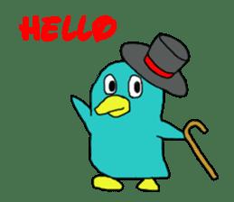 Bird-kun sticker #7933768