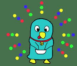 Bird-kun sticker #7933769