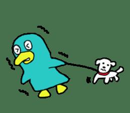 Bird-kun sticker #7933770
