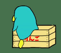 Bird-kun sticker #7933772