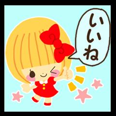 Hana chan sticker 2