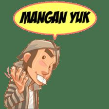 Mas Joko Wong Jowo sticker #7937312