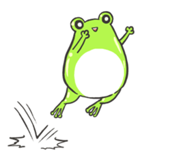 Frog step Stickers sticker #7939900