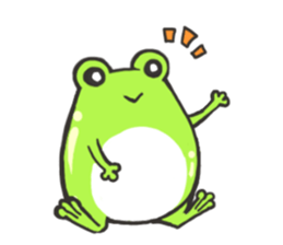 Frog step Stickers sticker #7939904