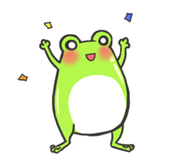 Frog step Stickers sticker #7939907