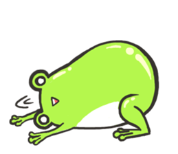 Frog step Stickers sticker #7939909