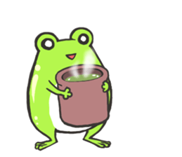 Frog step Stickers sticker #7939912