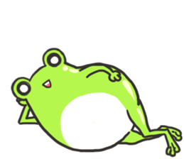 Frog step Stickers sticker #7939913