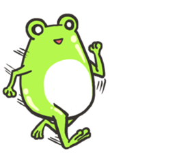Frog step Stickers sticker #7939914