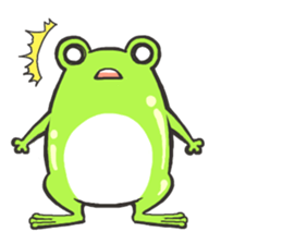 Frog step Stickers sticker #7939916