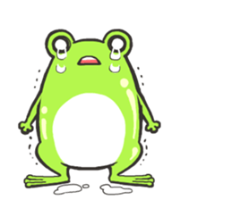 Frog step Stickers sticker #7939918