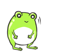 Frog step Stickers sticker #7939922
