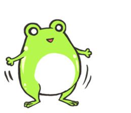 Frog step Stickers sticker #7939926