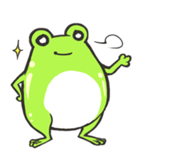 Frog step Stickers sticker #7939927