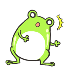 Frog step Stickers sticker #7939928