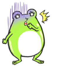 Frog step Stickers sticker #7939929