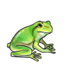 Frog step Stickers sticker #7939939